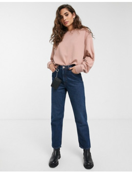 Weekday   Huge   Sweat Shirt Court Oversize   Vieux Rose by Weekday