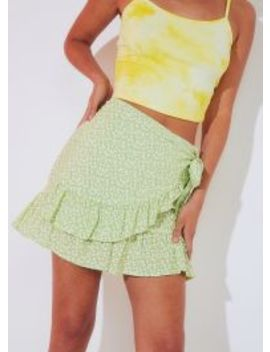 Nikola Skirt   Green by Peppermayo