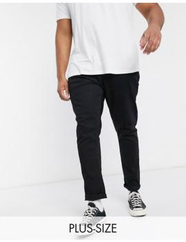 Jacamo  Strækbare Jeans I Tapered FitI Black Wash by Jacamo