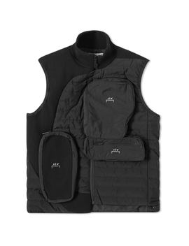 A Cold Wall* 3 D Asymmetrical Pocket Puffer Gilet by A Cold Wall*