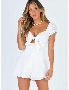 Summer Nights Playsuit by Princess Polly