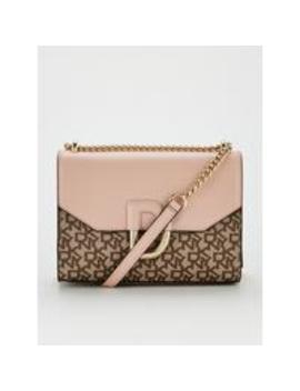 Von Flap Shoulder Bag   Cashmere Pink by Dkny