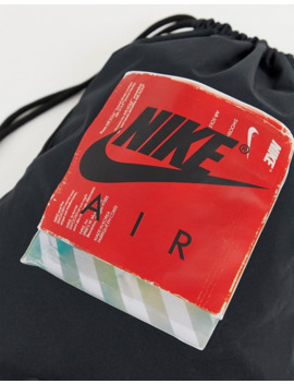 Nike Air Black 90s Drawstring Bag by Nike