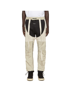 Off White Leather Chaps by Fear Of God