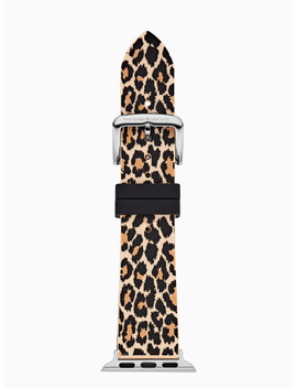 Leopard Silicone 38/40mm Apple Watch® Strap by Kate Spade
