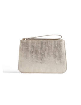 Hensy Leather Clutch by Jigsaw