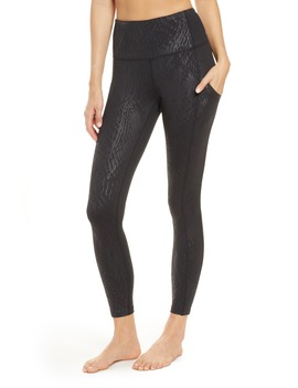 Live In High Waist Pocket Ankle Performance Leggings by Zella
