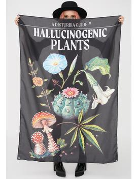 Plants Tapestry by Disturbia