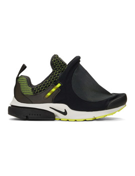 Black Nike Edition Air Presto Foot Tent Sneakers by Comme Des GarÇons Homme Plus