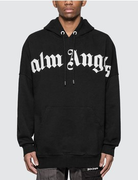 Front Over Logo Hoody by Palm Angels