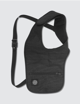 Reflective Weave Ripstop Shoulder Bag by Stone Island