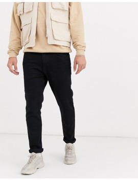 Bershka— Sorte Jeans Med Smal Pasform by Bershkas
