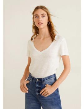 T Shirt Linho by Mango