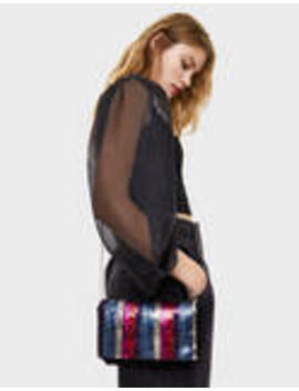 Handbag With Sequinned Front Flap by Bershka
