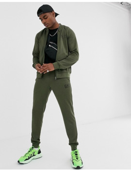 Armani Ea7 Train Core Id Tracksuit In Khaki by Ea7