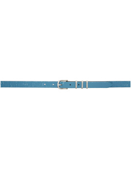 Blue Patent Jet Belt by Rag & Bone