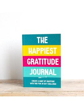 Gratitude Journal, Daily Gratitude, Happy Journal, Positive Inspiration, 30 Day Challenge, Happiness Planner, Self Care, Fun Journal, Write by Etsy
