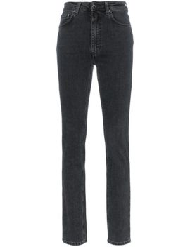 High Waisted Slim Fit Jeans by Totême
