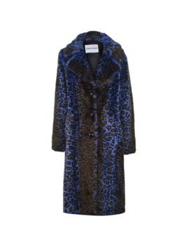 Fanny Acidic Leopard Faux Fur Coat by Stand