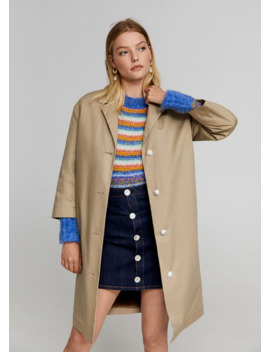 Trench Mit Abnehmbarer Weste by Mango