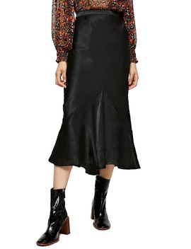Flounce Midi Skirt by Topshop