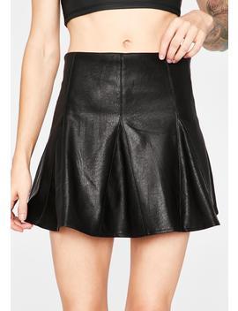 Bitter Romance Mini Skirt by Dolls Kill