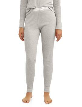 Hanes Women's X Temp Thermal Waffle Pant With Fresh Iq by Hanes