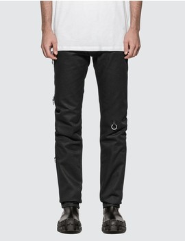 Slim Fit Jeans With Rings by Raf Simons