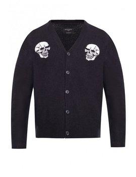 'Skullz' Cardigan by All Saints