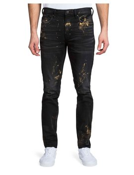 Men's Windsor Fit Painted Denim Jeans by Prps