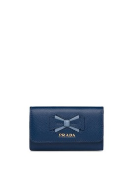 Bow Logo Key Holder by Prada