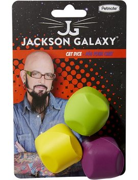 Jackson Galaxy Dice Cat Toy, 3 Count by Jackson Galaxy