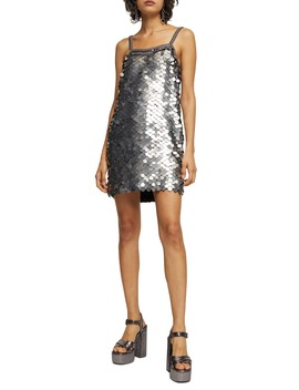 Sequin Slipdress by Topshop