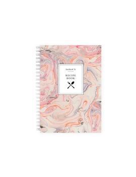 Spiral Bound Recipe Book Binder   Marbled by Etsy