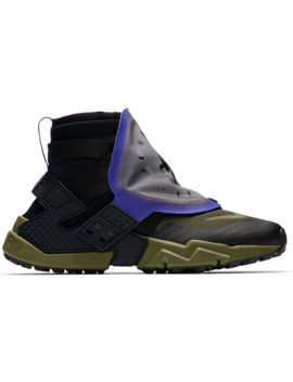Air Huarache Gripp Black Olive Canvas by Stock X