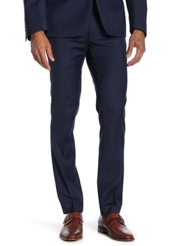 Sharkskin Slim Fit Suit Seperate Trousers by Calvin Klein