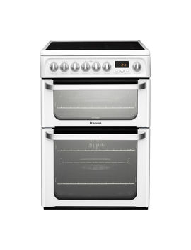 Ultima Hue61 Ps 60 Cm Electric Ceramic Cooker   White by Currys