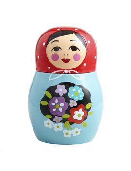 Russian Doll Ceramic Cookie Jar by World Market