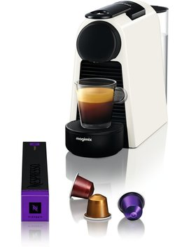 Nespresso Magimix Essenza Mini M115   Koffiecupmachine   Pure White by Magimix