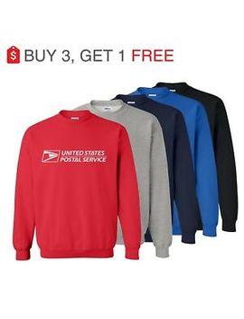 Unisex Usps Postal Post Office   Heavy Blend™ Crewneck Sweatshirt by Gildan