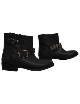 Black Leather Ankle Boots by Ash