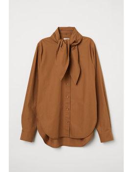 Koszula Z Wiązaniem by H&M