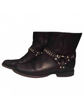 Leather Biker Boots by Frye