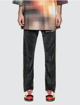 Chenille Track Pants by Palm Angels