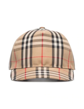 Vintage Check Trucker Cap by Burberry