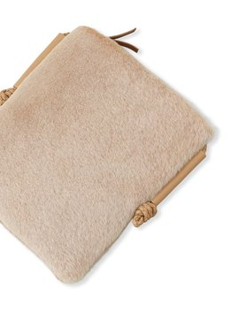 Shearling Crossbody Bag by Lafayette 148 New York