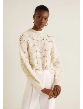Pullover Maglia Traforata by Mango