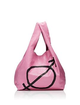 Arena Leather Supermarket Shopper Tote Bag by Balenciaga