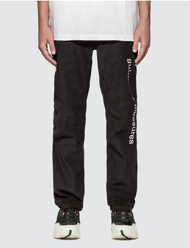Guided Corduroy Pants by Pleasures