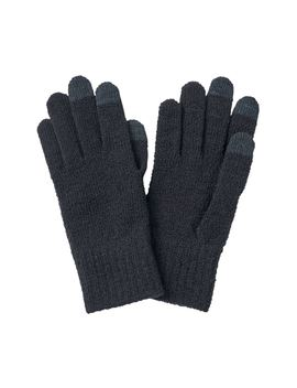 Wool Mix Touch Panel Gloves by Muji